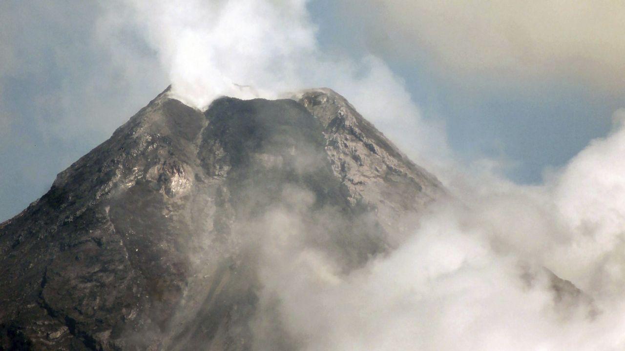 Volcán Mayon en Filipinas