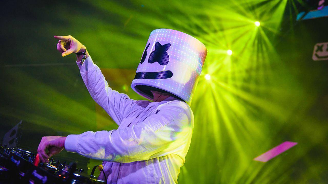 .El productor y DJ americano Marshmello viene a Europa para festivales como Meo Sudoeste (Portugal) y Rock Werchter (Bélgica)