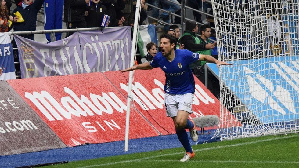 Toché celebra su gol frente al Elche