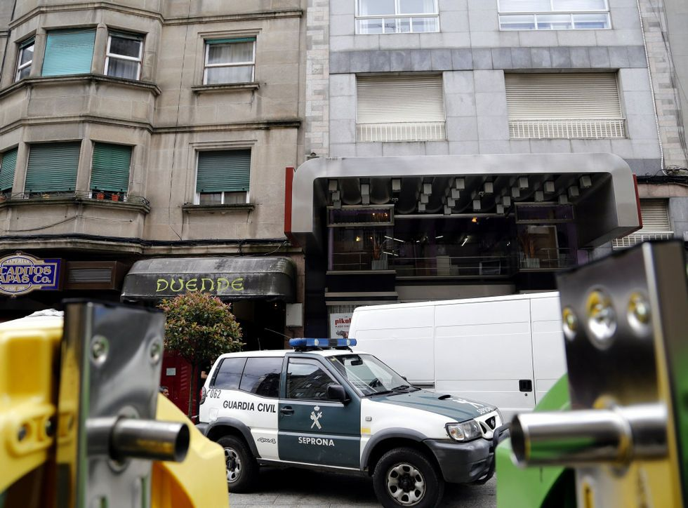 La detención de los delincuentes la realizó la Guardia Civil en junio en un operativo en Vigo.