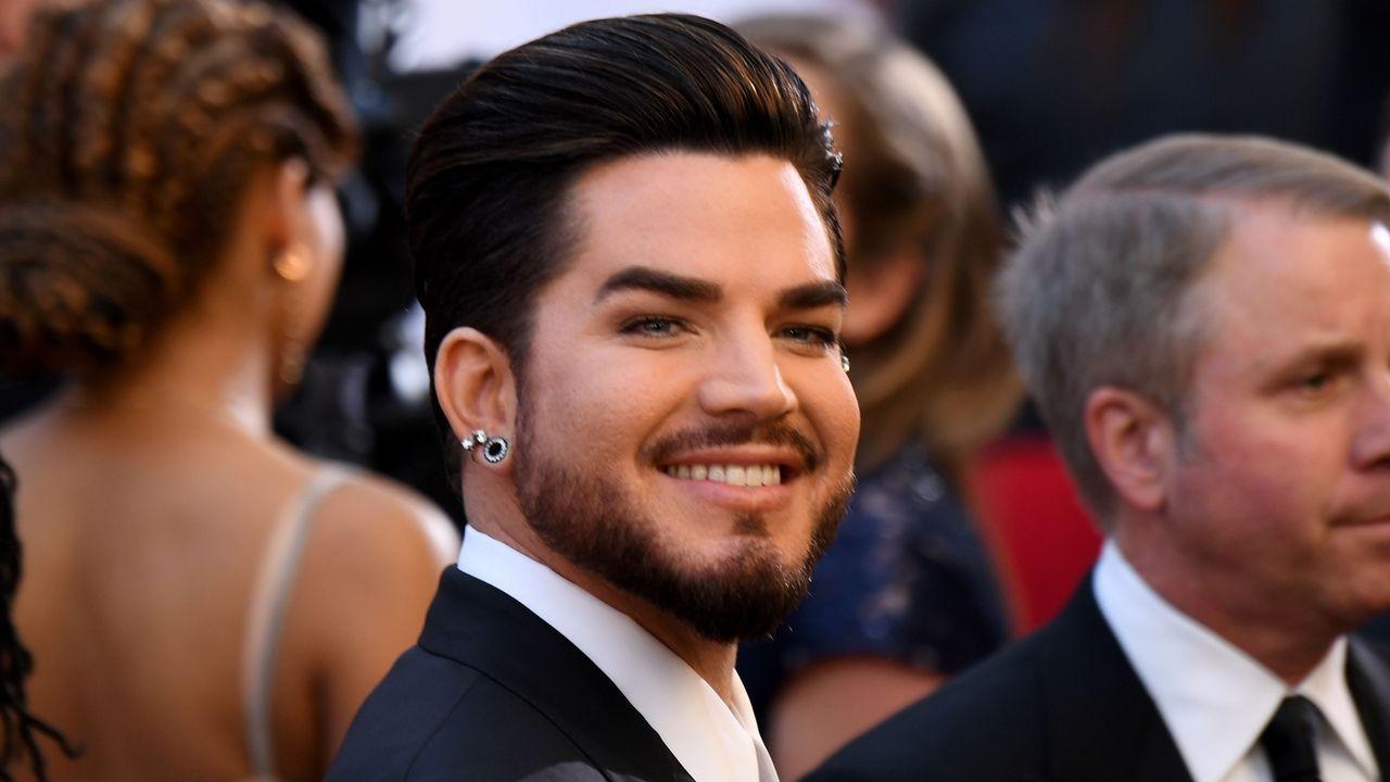 Adam Lambert, que canta con Queen en la gala