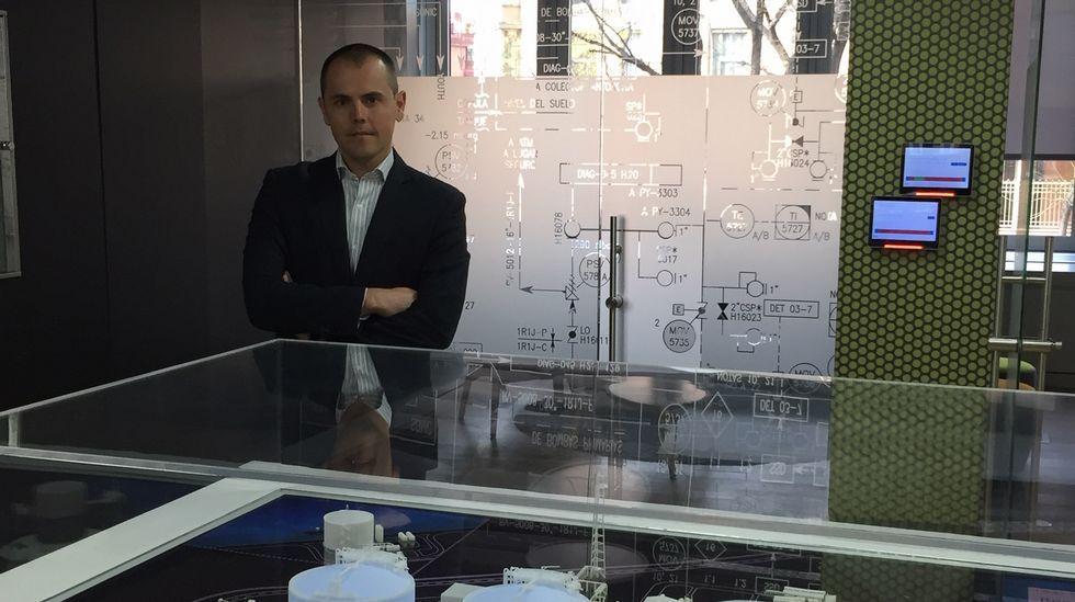 EloyAlvarellos, «Pacheco»,amplía proyectos: ahora en O Cancelo, A Laracha.Miguel López, director del MBA de la Cámara de Comercio de Oviedo