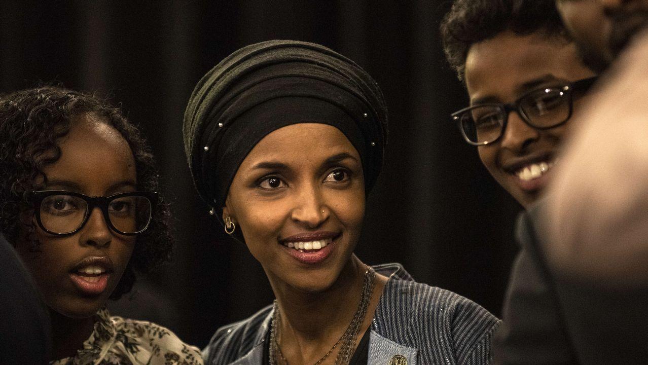 La demócrata Ilhan Omar se ha asegurado un escaño en la Cámara de Representantes.