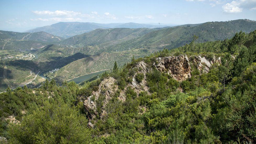 Las mejores imágenes de la ruta de Os Cófaros.