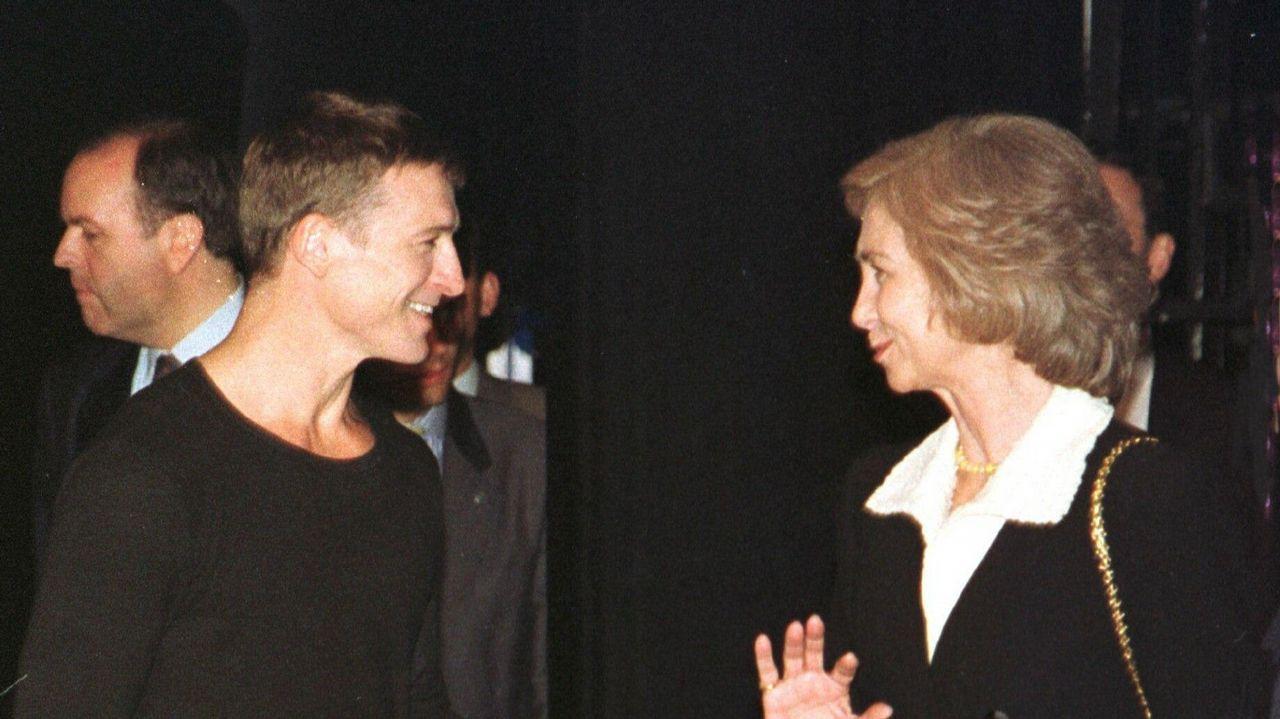En 1999 con en el entonces director de la Compañía Nacional de Danza, Nacho Duato