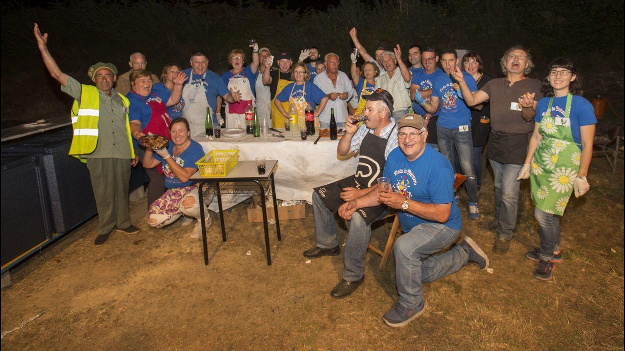 ¡Mira cómo fue la Festa do Pichorro de Cances, en Carballo!.