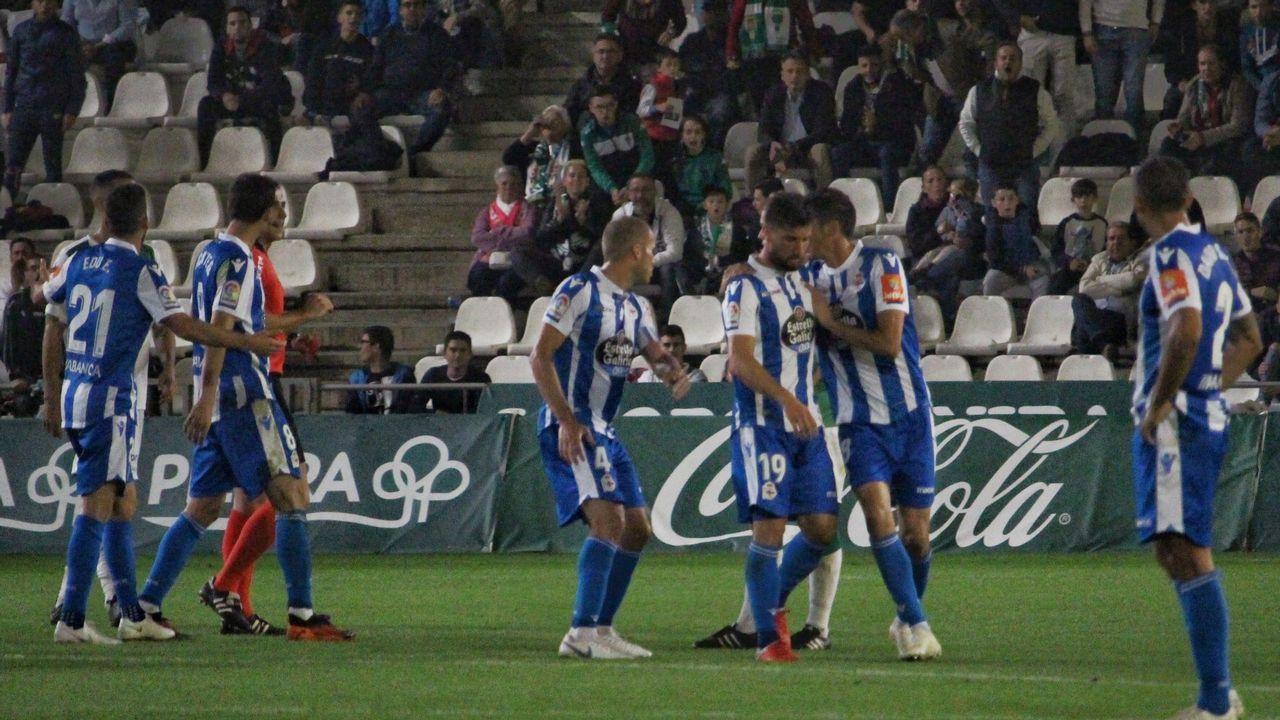 Anquela en el Real Oviedo-Osasuna
