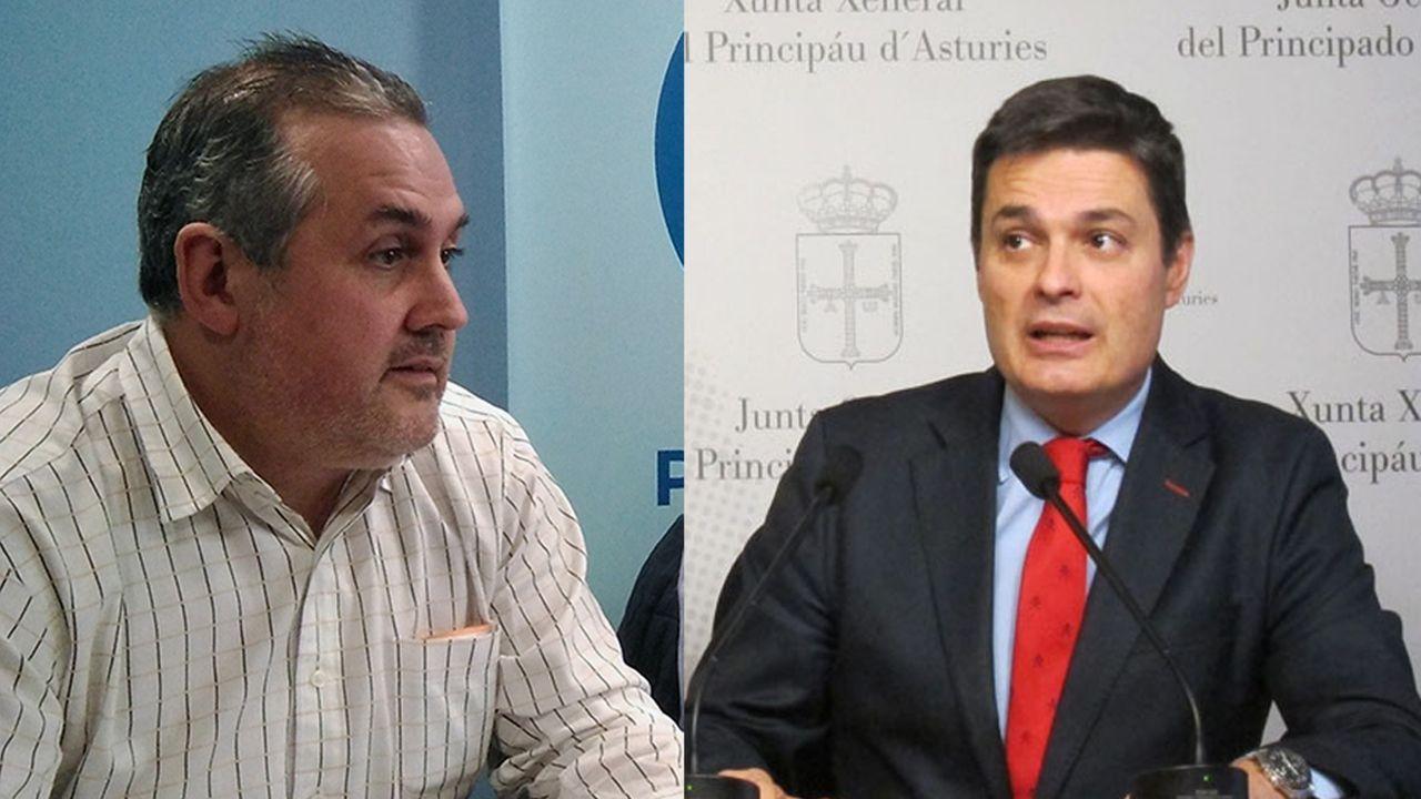 La alcaldesa de Avilés, Mariví Monteserín.Alfonso Araujo y Pedro de Rueda