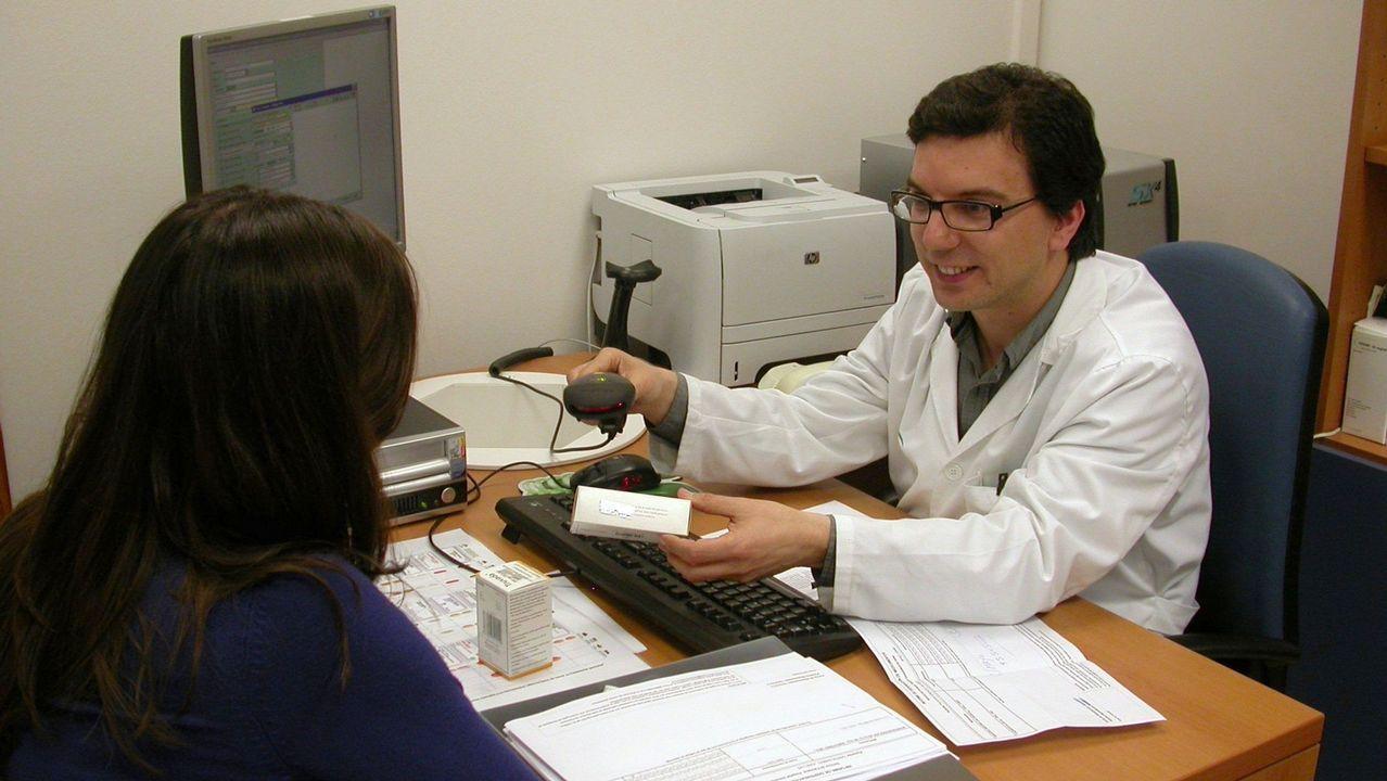 Técnicos sanitarios en la Delegación del Gobierno