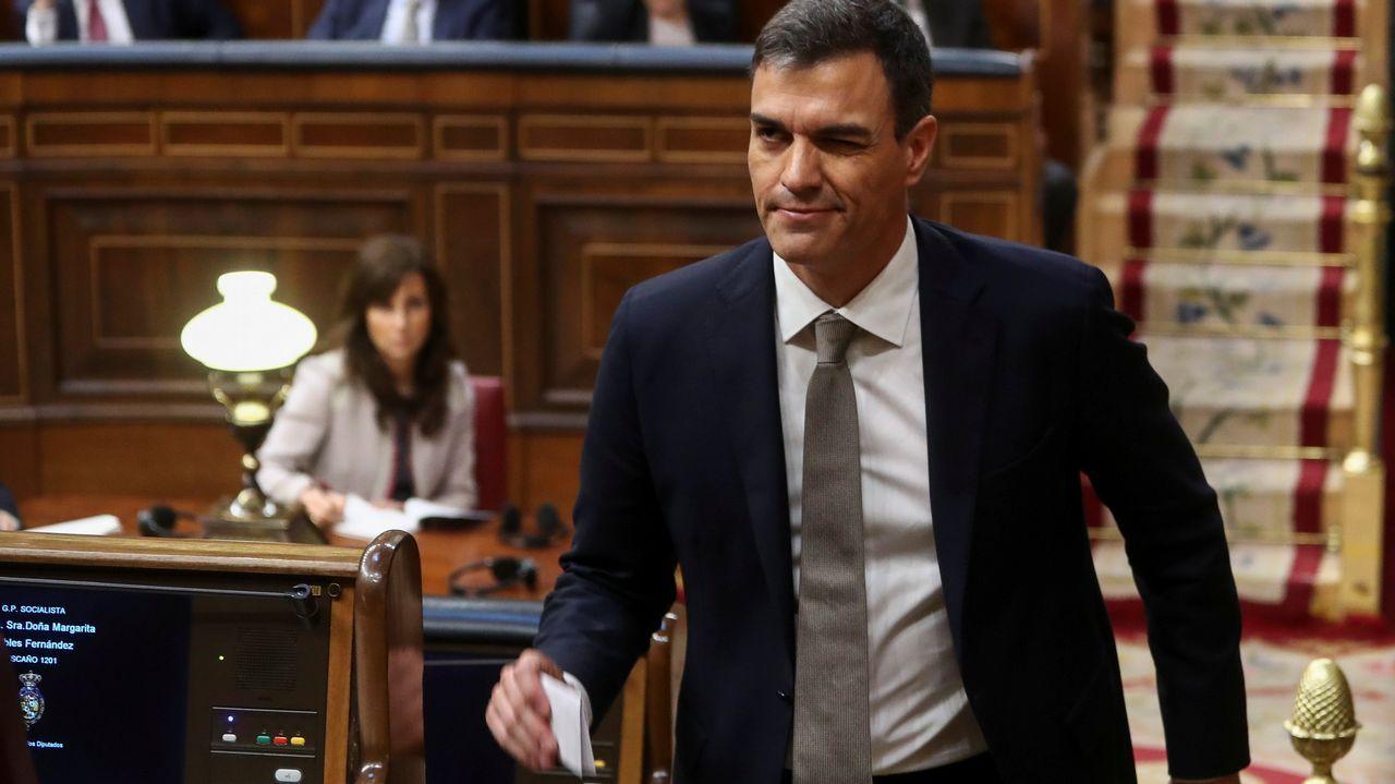El líder socialista ha prometido mantener los Presupuestos de Rajoy, en un guiño al PNV.