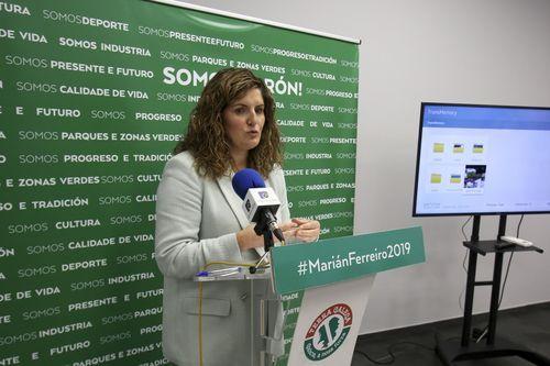 Sesión de investidura en el concello de Ferrol
