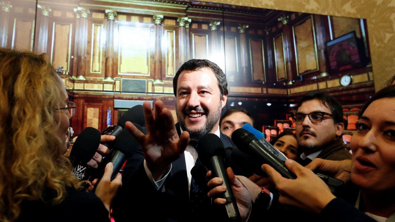 Juan Manuel Romero (PP) y Juan Marín (Ciudadanos), en una imagen de archivo