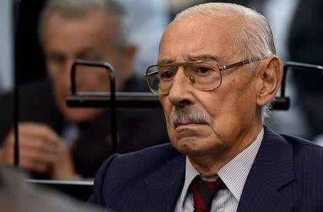 Rafael Videla, ante el tribunal del caso Plan Cóndor el pasado día 5 de marzo.