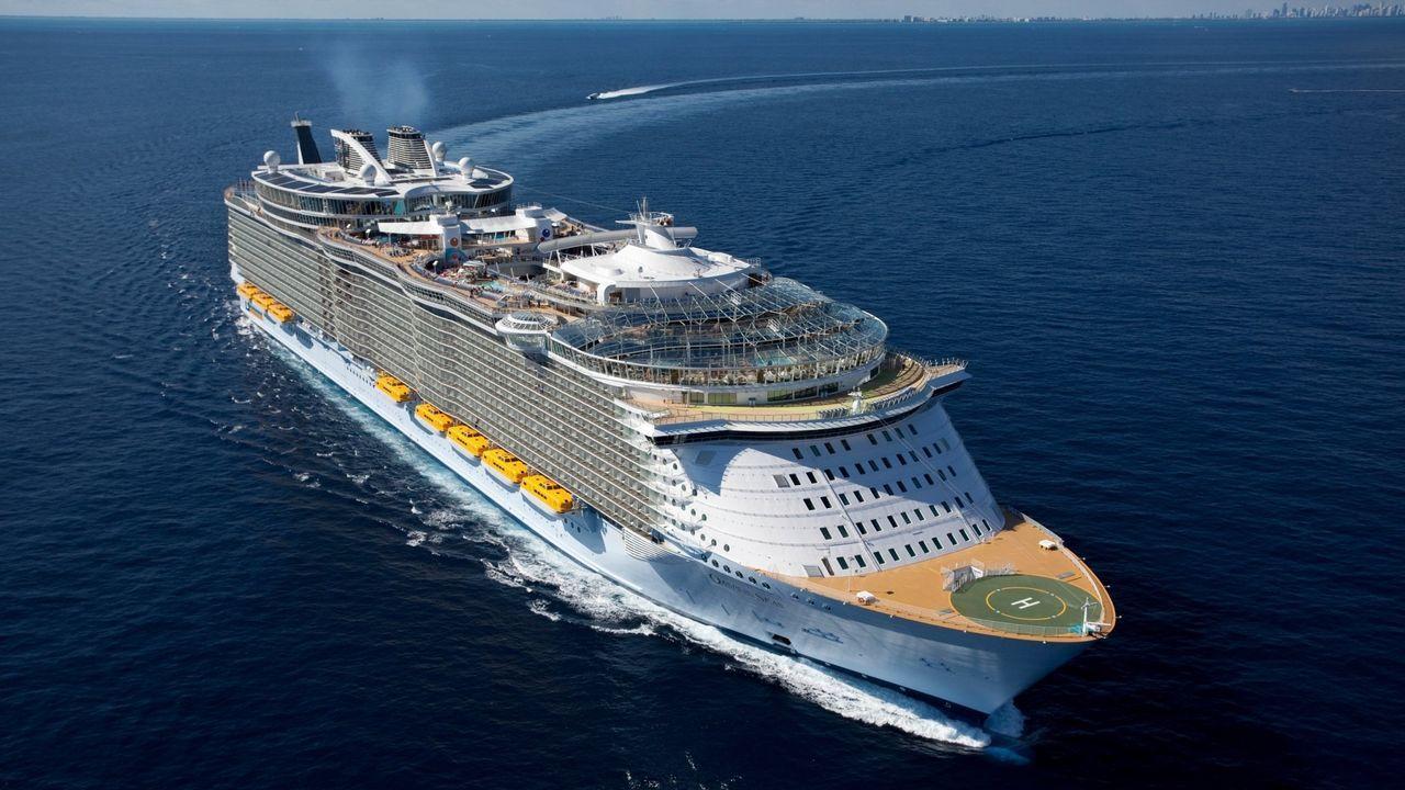 Crucero de la compañia Royal Caribbean en una imagen de archivo