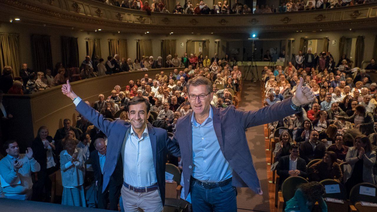 Y los vascos hicieron realidad la Ámsterdam española en Vitoria.Caballero cree que en Galicia hay una mayoría de izquierdas