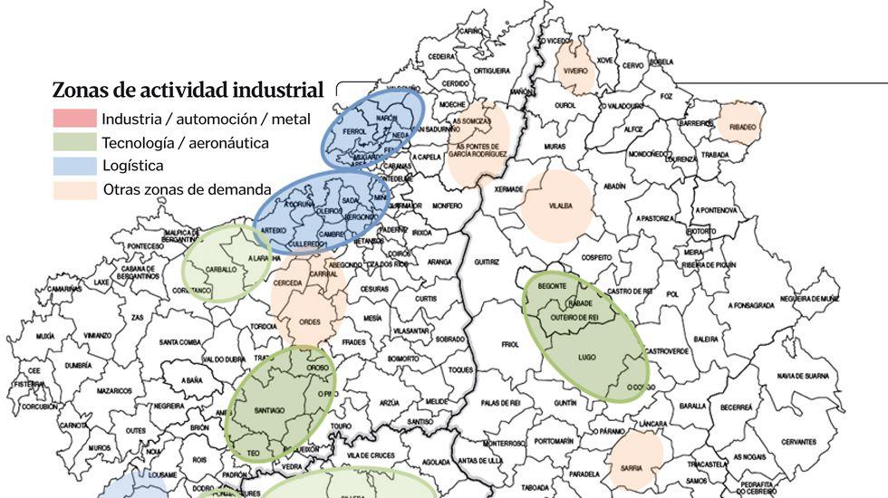 Zonas de actividad industrial