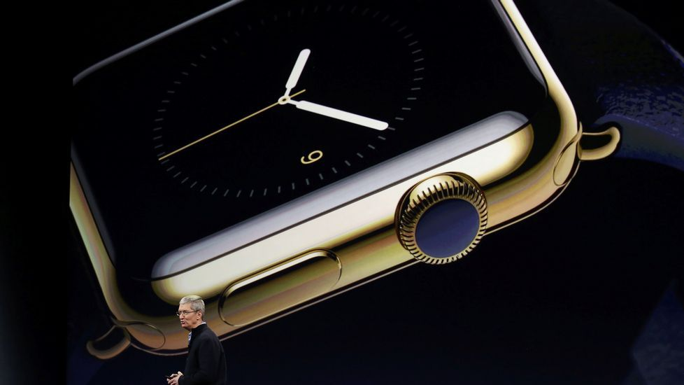 La presentación del Apple Watch, en fotos