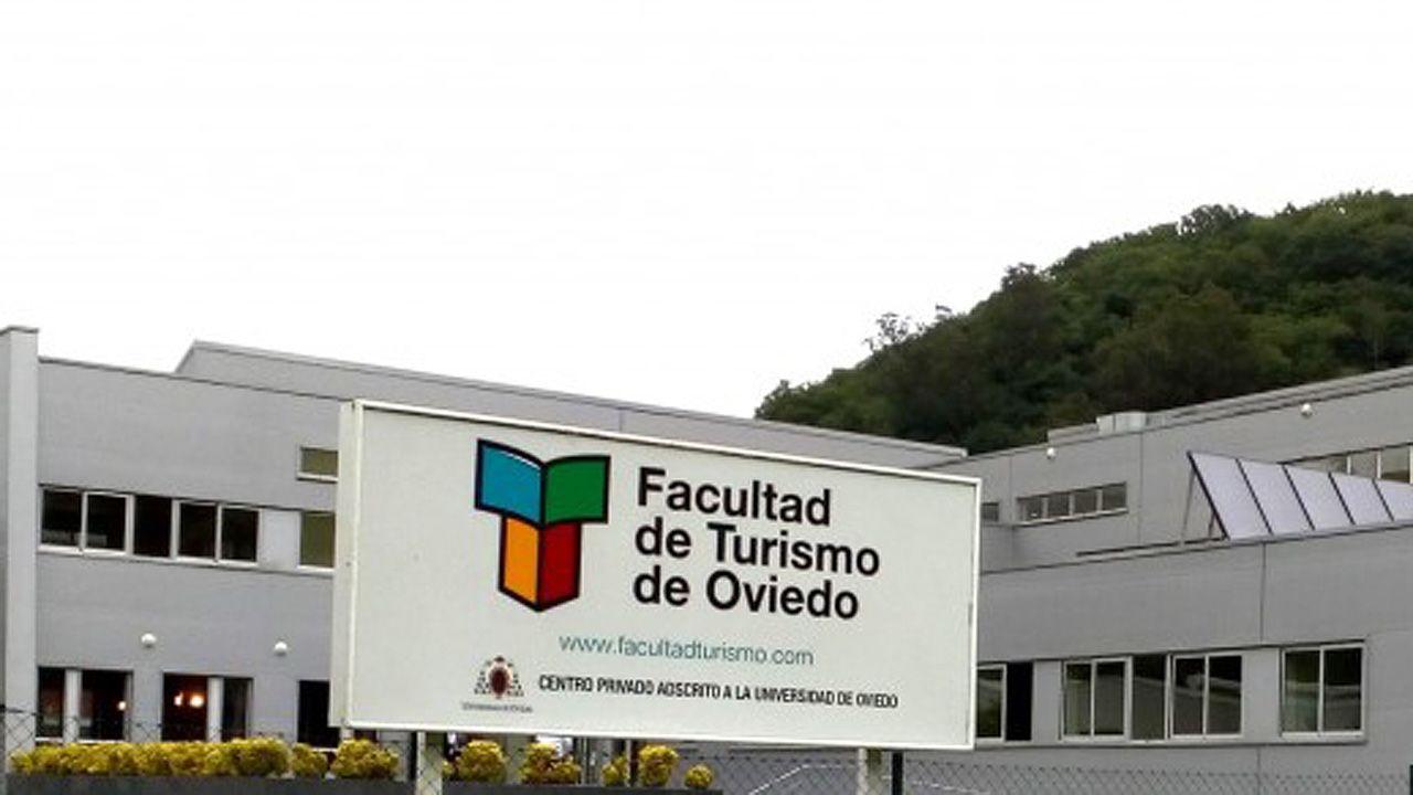 Facultad de Turismo de Oviedo, en Olloniego