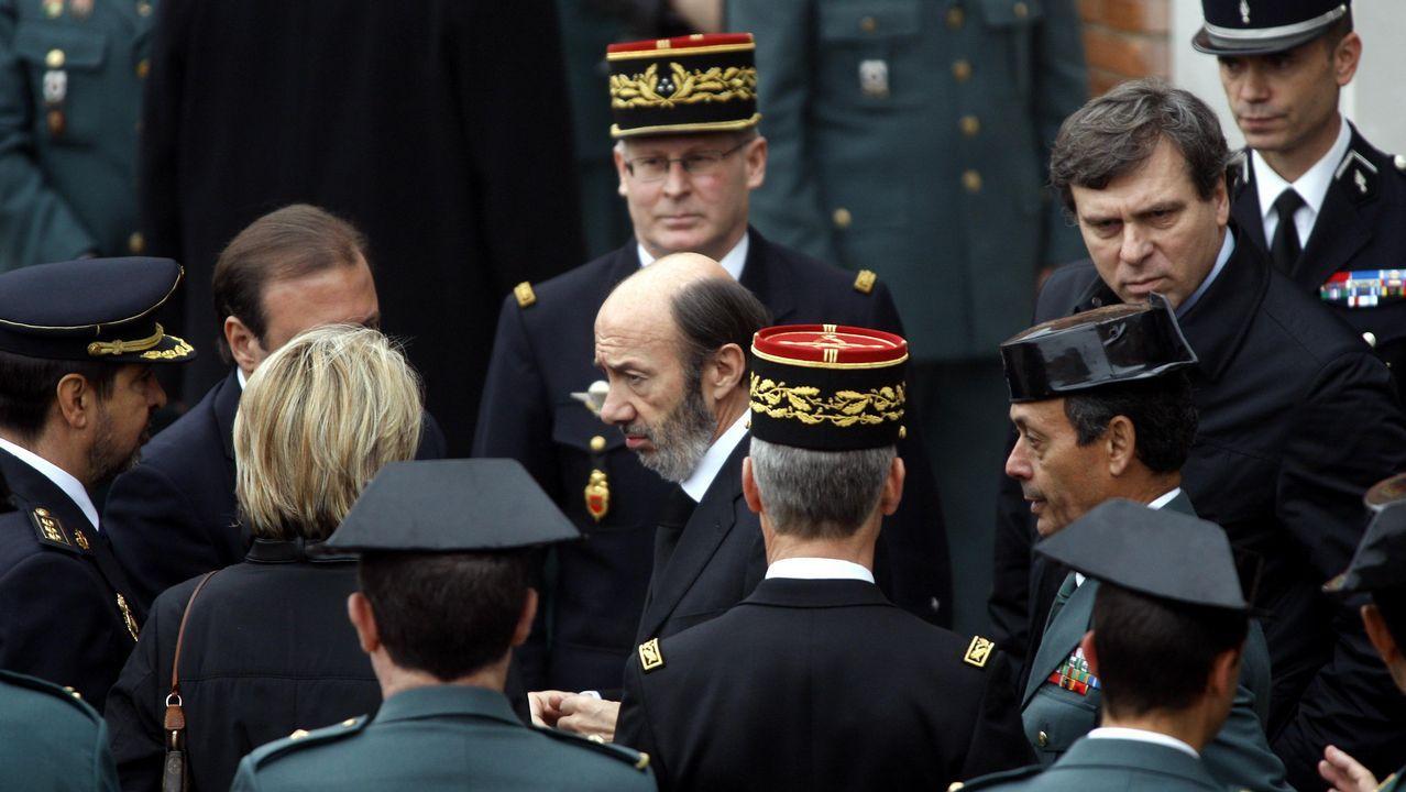 Funeral de Estado por el agente de la guardia civil Fernando Trapero asesinado por ETA en Francia en el 2007