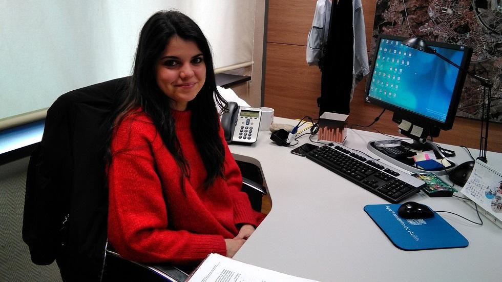 Raquel Ruiz, concejala de Juventud de Avilés