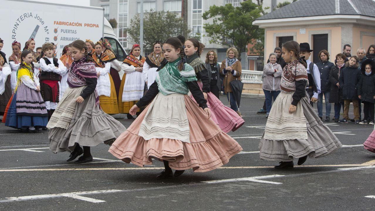 Tarde de Encontro e Foliada coa asociación cultural Queiroga.