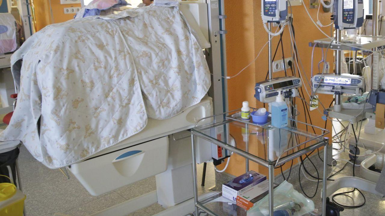 .Imagen de archivo de una uci de neonatos