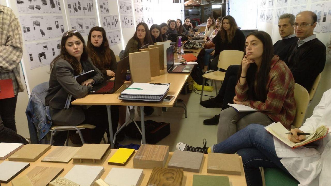 Los alumnos presentaron sus proyectos de muebles para «neo-nómadas creativos» la semana pasada