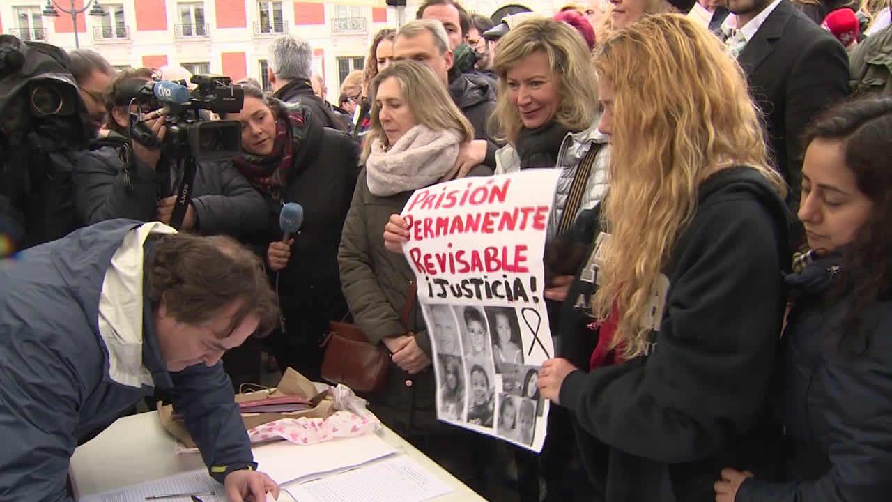 La madre de Diana Quer: «No es una ley de venganza, es seguridad para todos».
