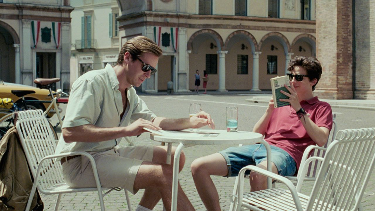 Fotograma de su película «Call me by your name».
