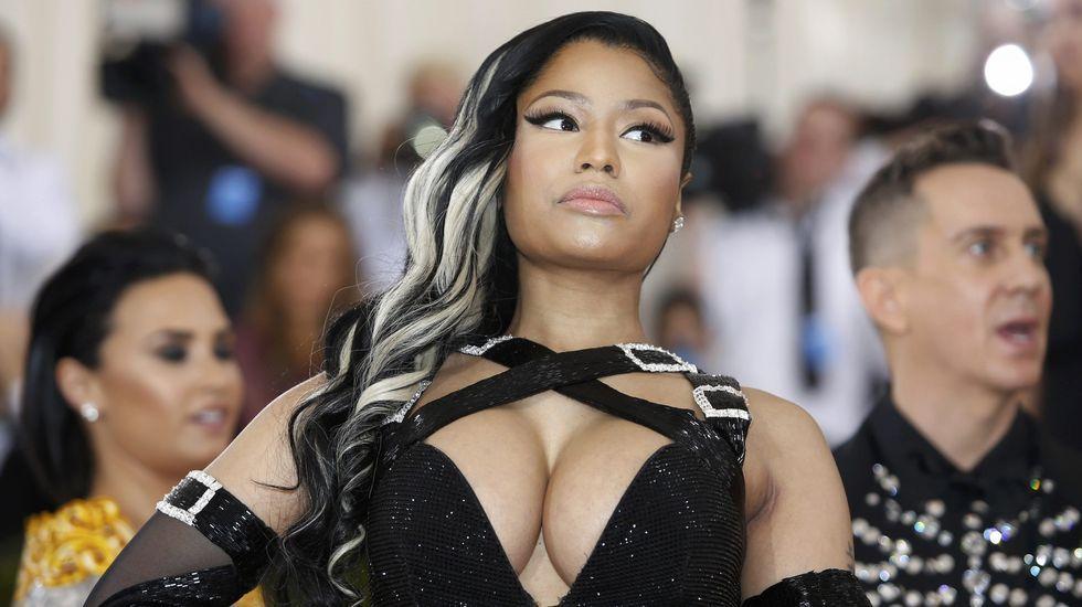 La rapera Nicki Minaj.