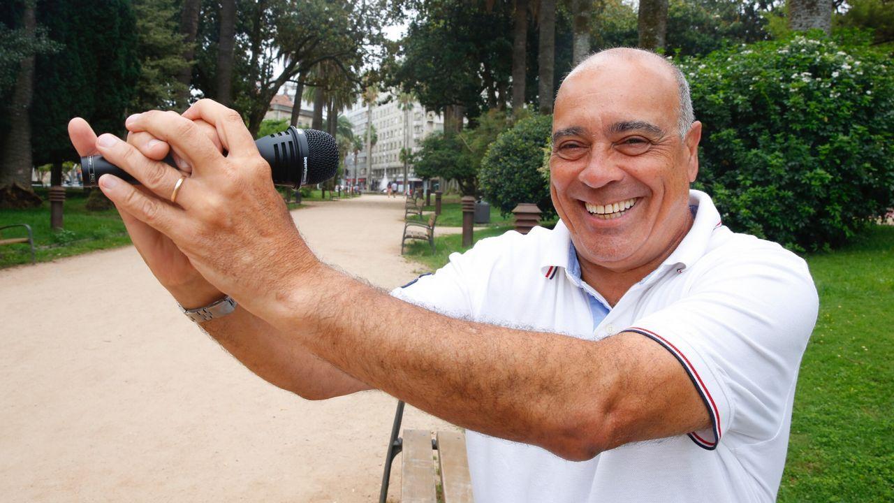 Las imágenes del éxodo en Venezuela.El opositor venezolano Julio Borges, junto a Pablo Casado