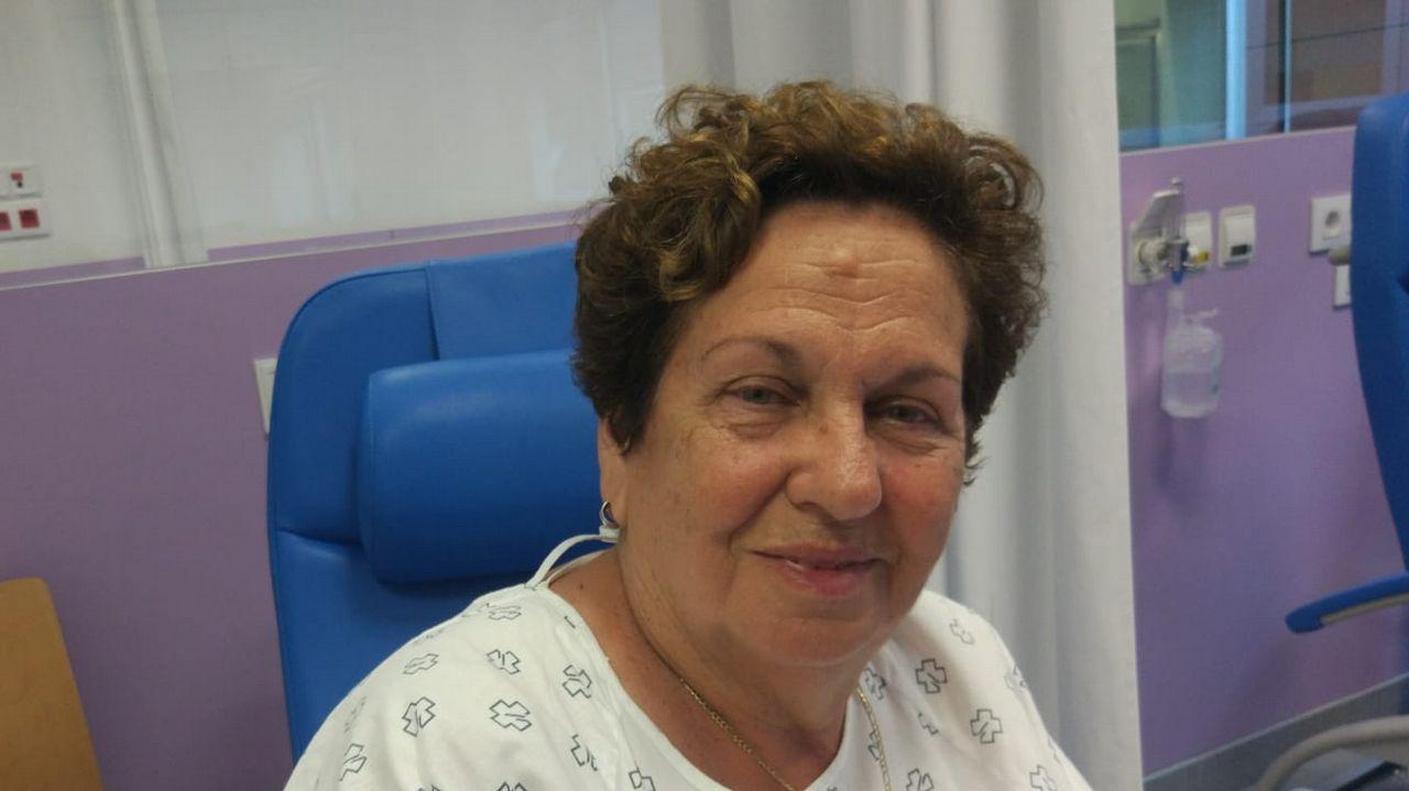 María Dolores Pascual, 80 años: «No me quería tirar al agua porque no sé nadar»
