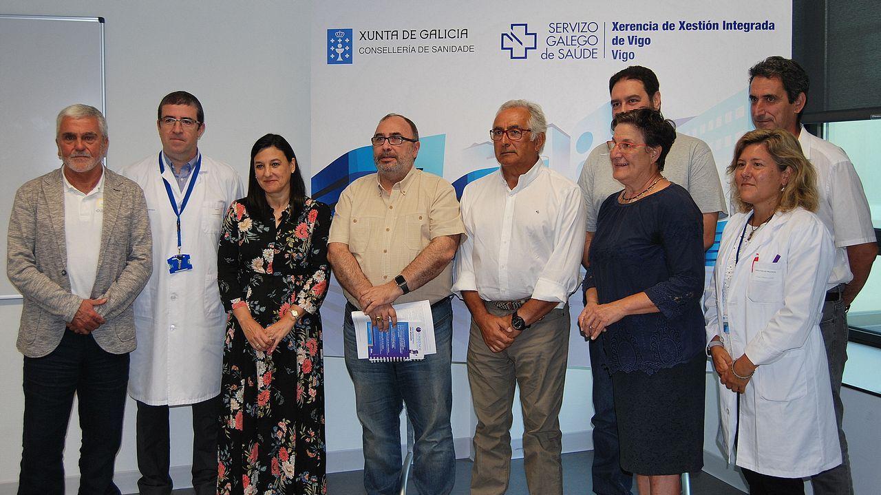 El Hospital Álvaro Cunqueiro fue el escenario elegido para presentar las conclusiones del proyecto Hygia