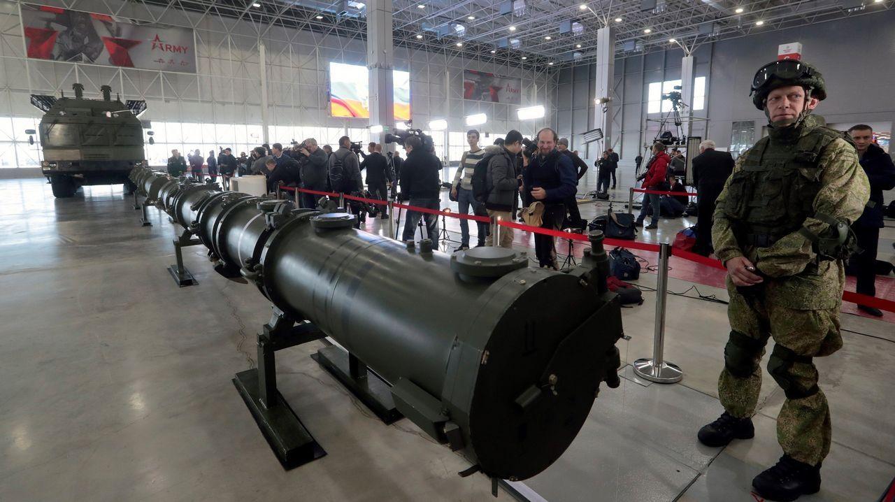 El Ejército ruso mostró ayer su controvertido misil de crucero 9M729
