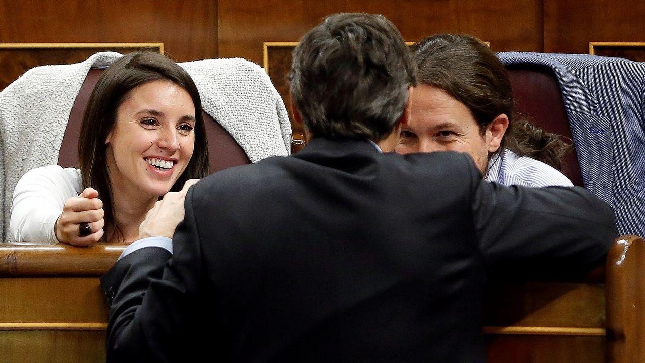 Rajoy: «El cuento del independentismo ya no da más de sí y nadie lo apoya».Pablo Iglesias