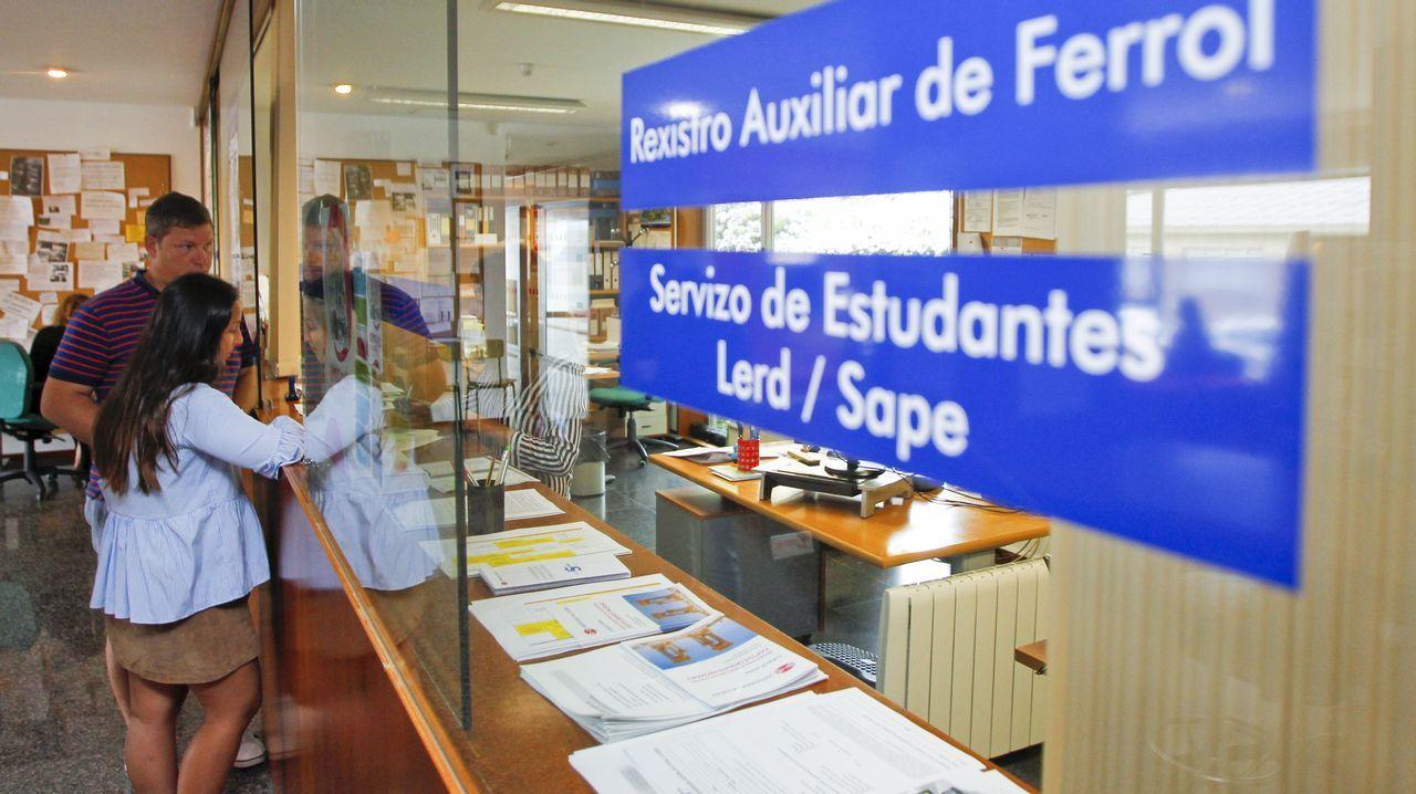 En el Lerd del campus se han publicado ya las listas de alumnos admitidos y en lista de espera para entrar en las carreras del sistema universitario gallego