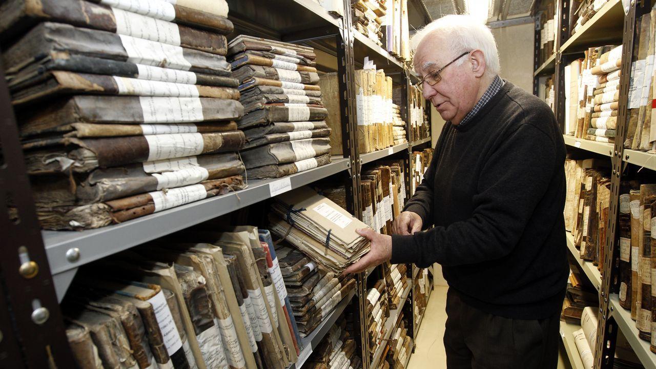 Miles de familias buscan sus orígenes a través de los archivos de la Iglesia.Anthony Blake