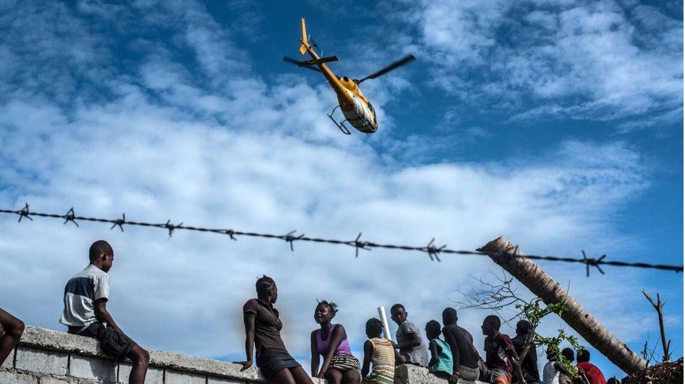 El Haití que le duele a Álex Zapico.