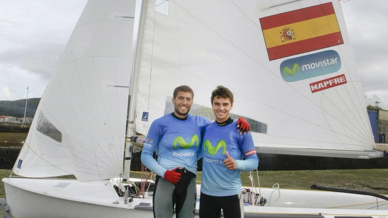.Nico Rodríguez y Jordi Xammar