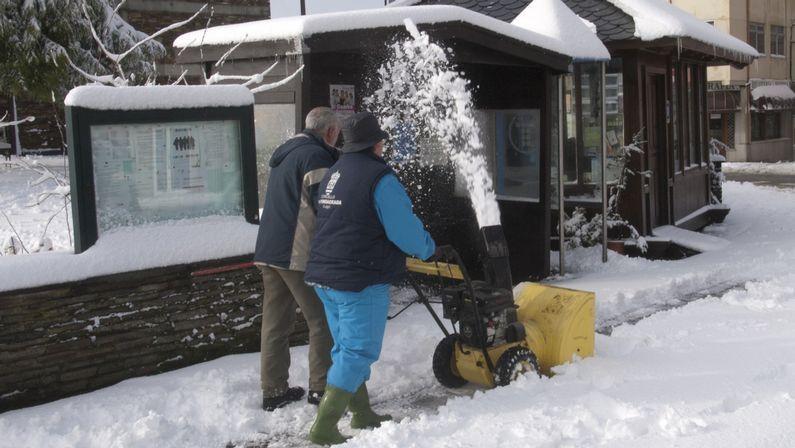 .Nieve en A Fonsagrada