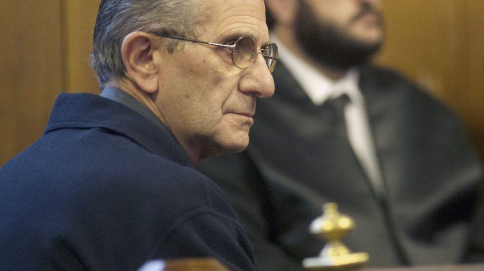 El responsable de finanzas del Vaticano, imputado por abusos sexuales a menores.El padre Román, durante el juicio