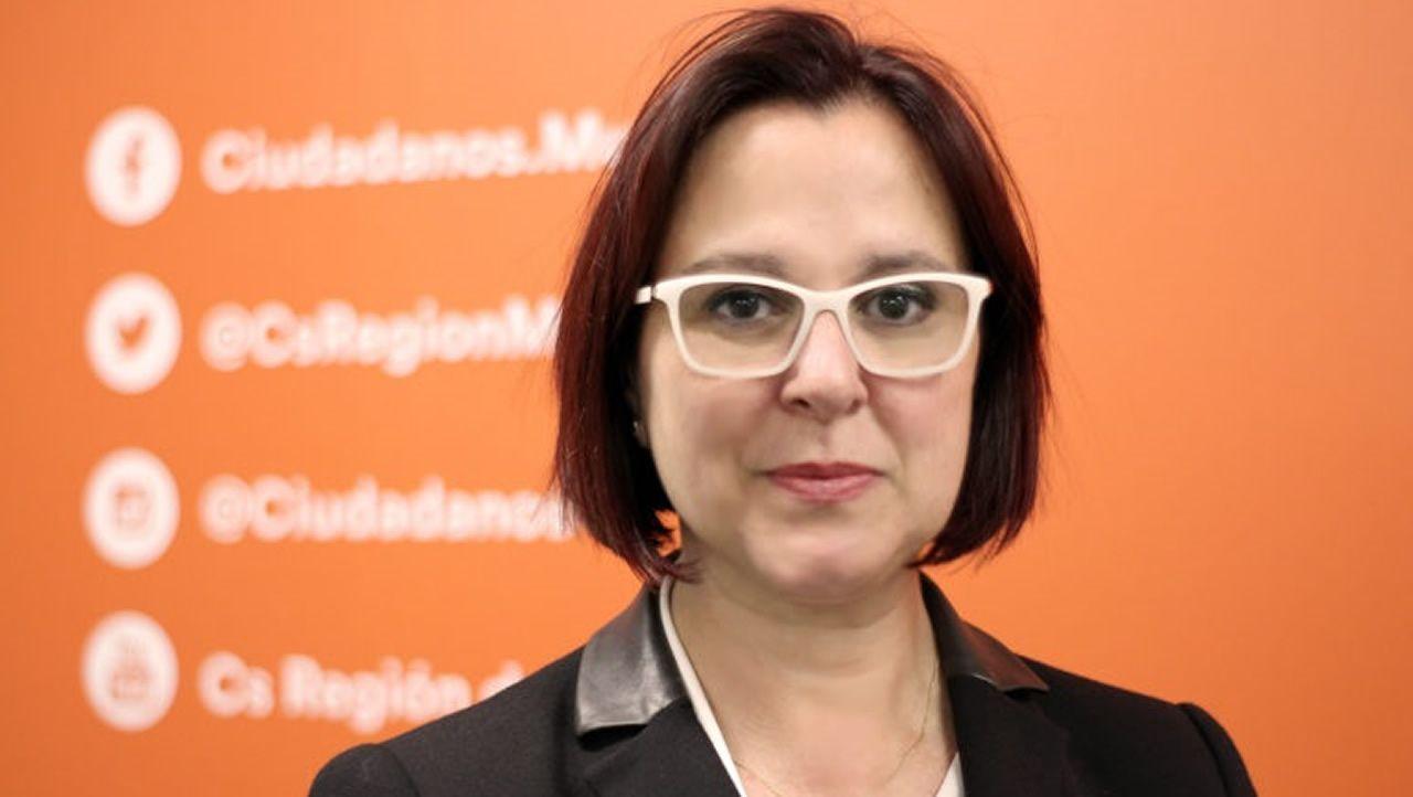 Isabel Franco, vencedora de las primarias de Ciudadanos en Murcia
