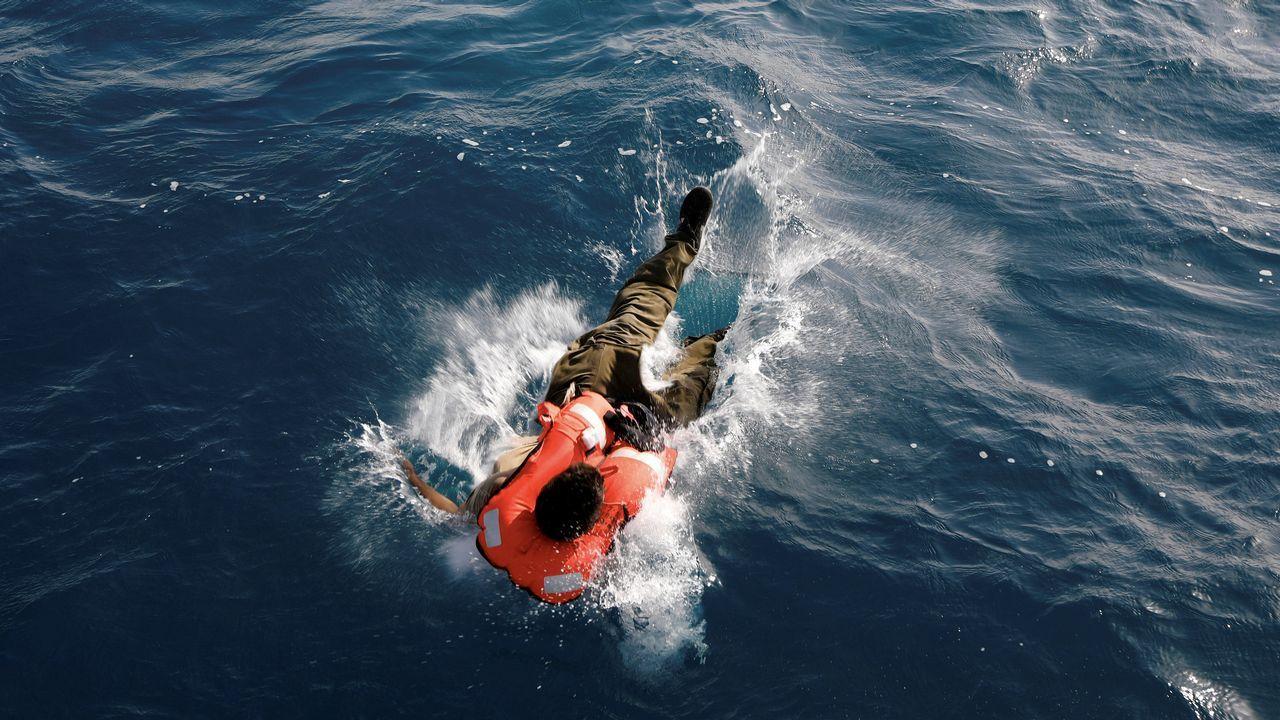 .Ejercicios de entrenamiento de la marina israelí
