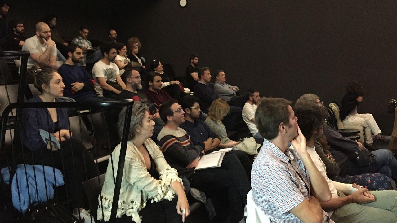 Público del Avilés Acción Film Festival durante una masterclass