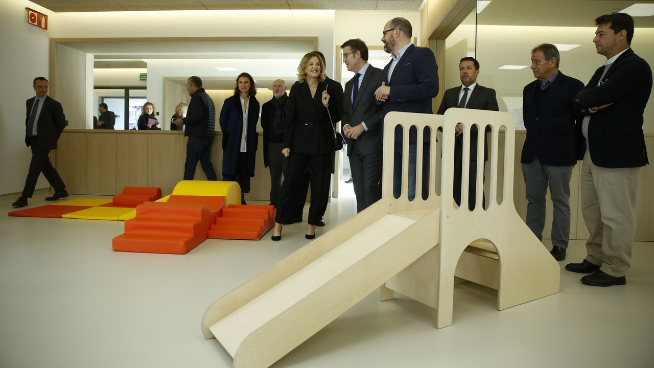 La escuela infantil de Castiñeiriño aporta 82 plazas de 0 a 3 años.Conecta Fiction celebró el año pasado su primera edición
