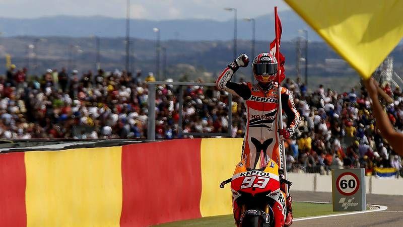 El Gran Premio de Aragón, en imágenes.Marc Márquez, en Malasia