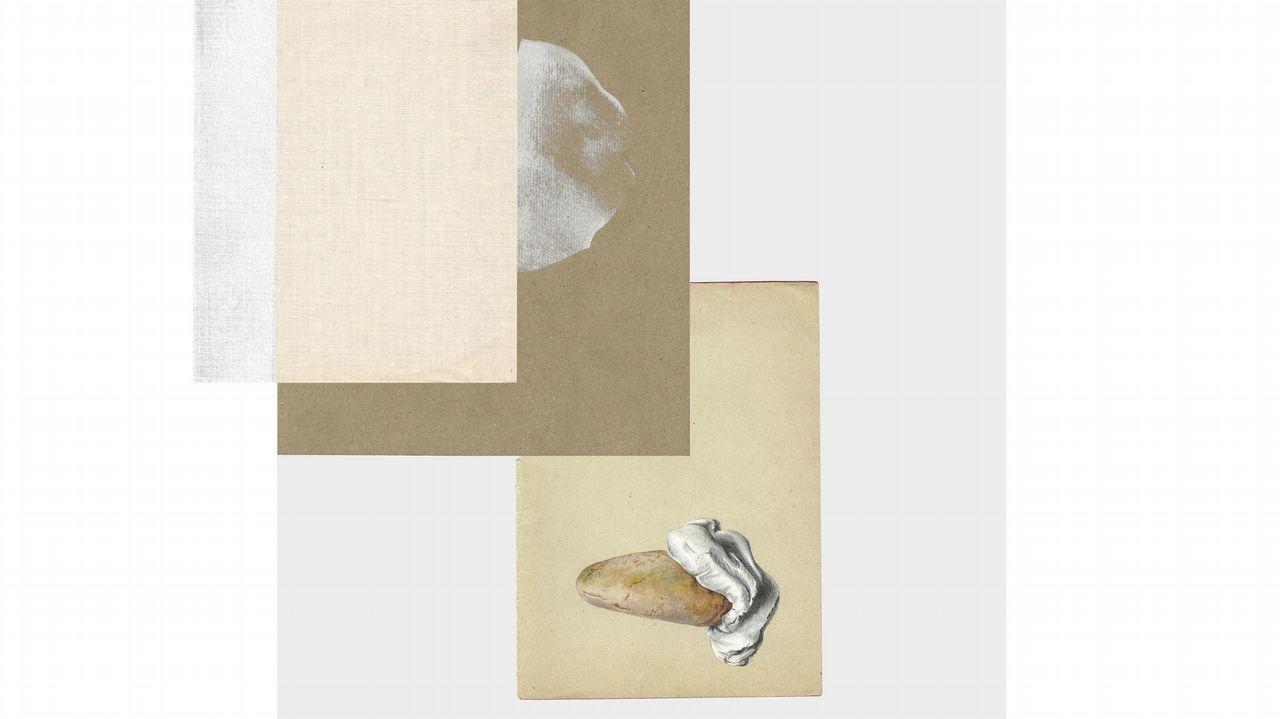 Detalle de una obra de Tamara Feijoo